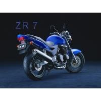 Синий байк стоит в темноте - фото на комп и обои, обои авто и мото