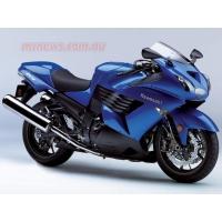 Синий байк Kawasaki, картинки и обои на рабочий стол компьютера скачать бесплатно