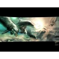 Дельфины обои (2 шт.)