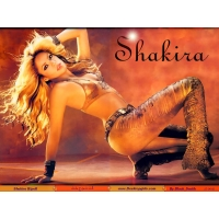 Шакира обои (5 шт.)