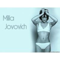 Milla Jovovich обои (3 шт.)