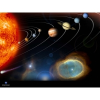 Солнечная система обои (2 шт.)