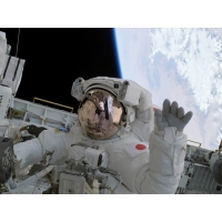 Космонавты обои (2 шт.)