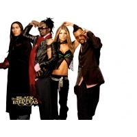 Black Eyed Peas обои (4 шт.)