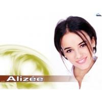 Alizee обои (4 шт.)