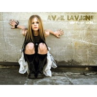 Avril Lavigne обои (7 шт.)