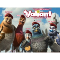 Valiant обои (4 шт.)
