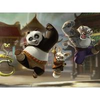 Курнгфу панда обои (4 шт.)