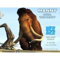 Ice Age обои (2 шт.)