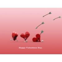 Счатливый день Св.Валентина скачать обои на рабочий стол