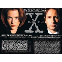 X-Files обои (4 шт.)