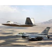 два истребителя на патрулировании, скачать обои для рабочего стола и фото