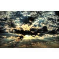 лучи солнца пробиваются сквозь облака, новые обои, новые картинки