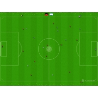 Футбольный матч стрелками мышки, картинки и рисунки для рабочего стола скачать бесплатно