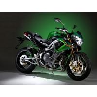 Чёрно-зелёный мотоцикл Benelli, картинки и заставки на рабочий стол