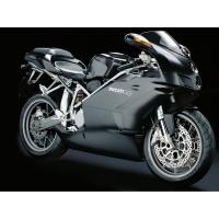 Спортивный чёрный мотоцикл Ducati 749, картинки и обои, изменить рабочий стол