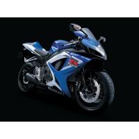 Синий мотоцикл Suzuki, скачать картинки и обои на рабочий стол
