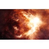Космическая огненная абстракция, картинки и обои - это крутой рабочий стол