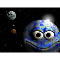 весёлые планеты, картинки и обои на рабочий стол компьютера скачать бесплатно