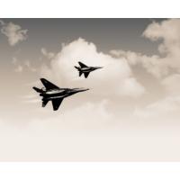 2 военных Самолёта - тема авиация, картинки и рисунки для рабочего стола
