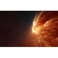 огненный поток, красивое фото на рабочий стол и картинки