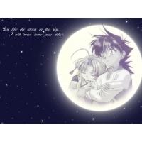 Луна обои (2 шт.)