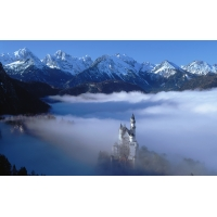 волшебный замок, бесплатные картинки на комп и фотки для рабочего стола