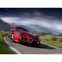 Alfa Romeo 8C обои (4 шт.)