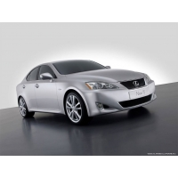 Lexus IS обои (3 шт.)