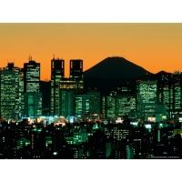 Гора Фудзияма, красивые обои на рабочий стол
