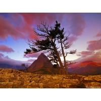 Красная гора, картинки на комп и обои для рабочего стола