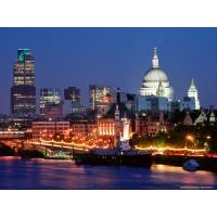 Лондон обои (4 шт.)