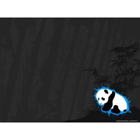Панды обои (2 шт.)