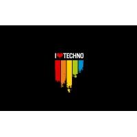 I love techno картинки, картинки, скачать фоновый рисунок для рабочего стола