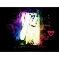 Леди Гага обои (2 шт.)