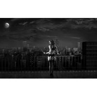 Девушка с сигаретой на крыше картинки, картинки и обои на рабочий стол компьютера скачать