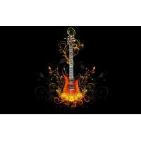 Гитара / Vector Guitar картинки, обои для рабочего стола скачать бесплатно, картинки
