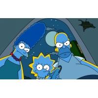 Симпсоны под луной - обои, картинки и фото скачать бесплатно