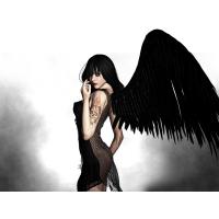 Падший ангел - бесплатные обои на рабочий стол и картинки