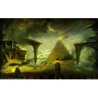 Дымящая пирамида - картинки и обои, изменить рабочий стол