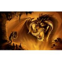 Золотой дракон - картинки и обои, смена рабочего стола