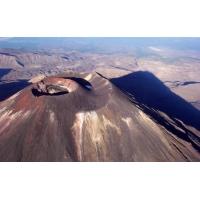 Жерло черного вулкана - большие обои и картинки для рабочего стола