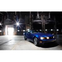 Blue Mustang - картинки и обои, поменять рабочий стол
