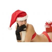 Санта в перчатках - скачать картинки бесплатные для компа