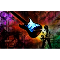 Гитара и музыкант - бесплатные картинки на рабочий стол и обои