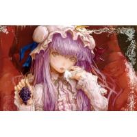 Девочка с сиреневыми волосами - гламурные картинки на рабочий стол и обои для рабочего стола