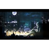Аниме девушка у окна - фото на рабочий стол бесплатно