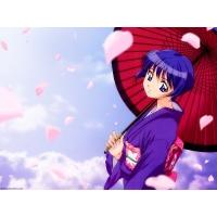 Девушка с зонтиком - скачать бесплатно картинки на комп и обои