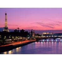 Ночной Париж - картинки на комп бесплатно и обои для рабочего стола