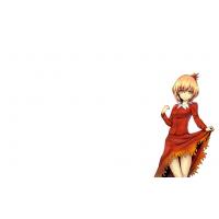 Девушка в юбке аниме - бесплатные фото на рабочий стол и картинки
